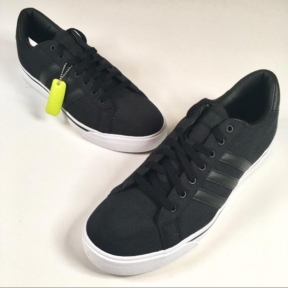 de88485c28db9 Adidas Neo Cloudfoam Super Daily Black Sneakers